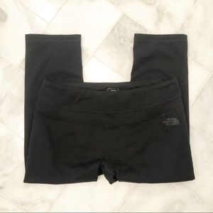 The North Face black cropped leggings